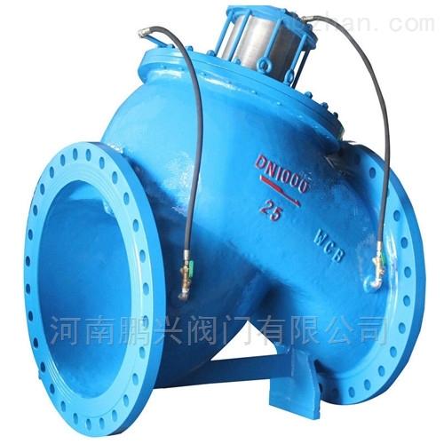 活塞式多功能水泵控制阀