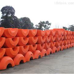 港口疏浚管道浮筒实心塑料浮体加工