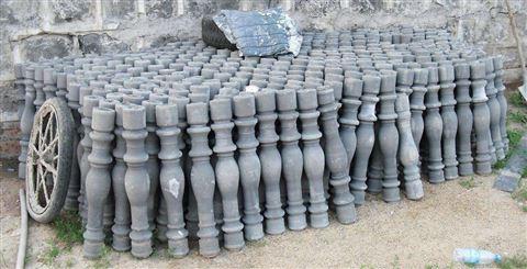 山东厂家直销花瓶柱栏杆  水泥围挡 罗马柱