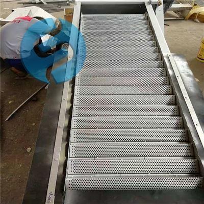 旋转网板式阶梯格栅清污机