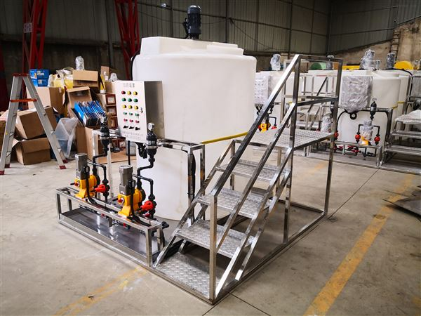 氨水加药装置生产
