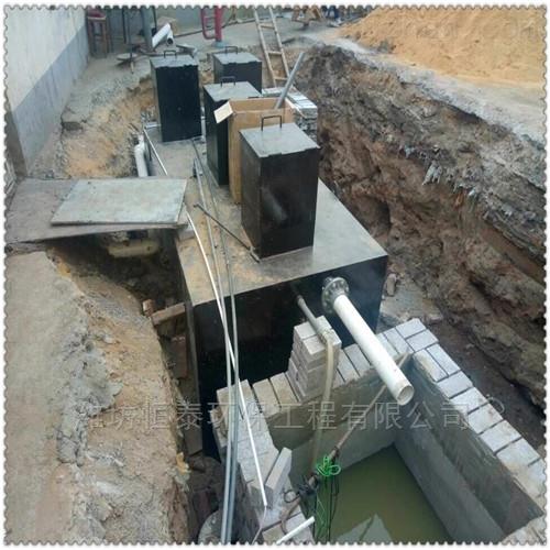 北海市地埋一体化污水处理设备