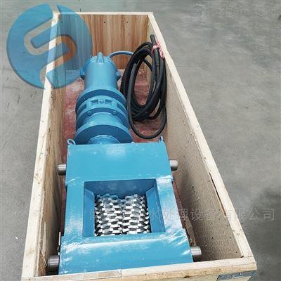 铸钢粉碎性格栅机