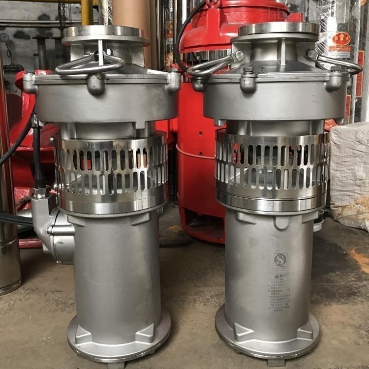 全不锈钢充油式潜水电泵