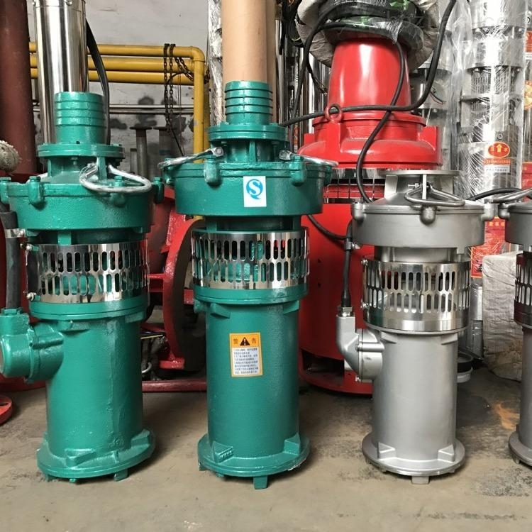 不銹鋼三相充油式潛水電泵
