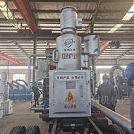 HLPG-50-2白色垃圾焚烧炉塑料高温气化炉