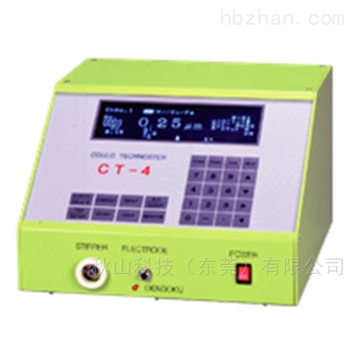 日本电测densoku高精度电解膜厚仪CT-4