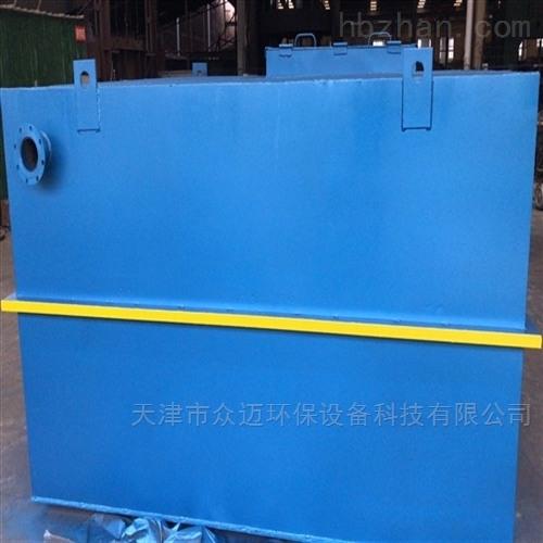 300吨新农村MBR一体化污水处理设备