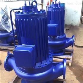 低噪音屏蔽管道泵