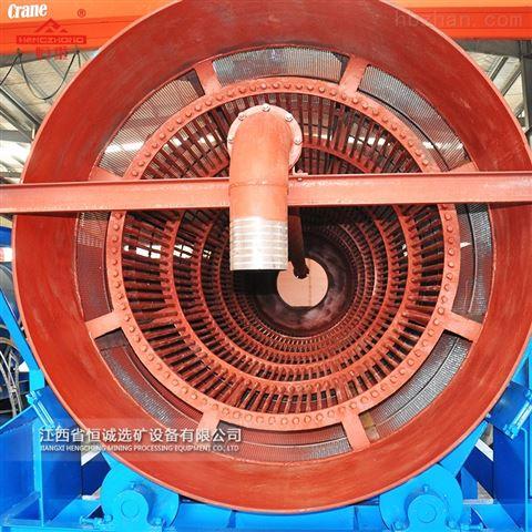 大型矿石筛分机不锈钢无轴转筒筛