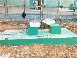 HR-SH来宾市 小区$r$n污水处理设备