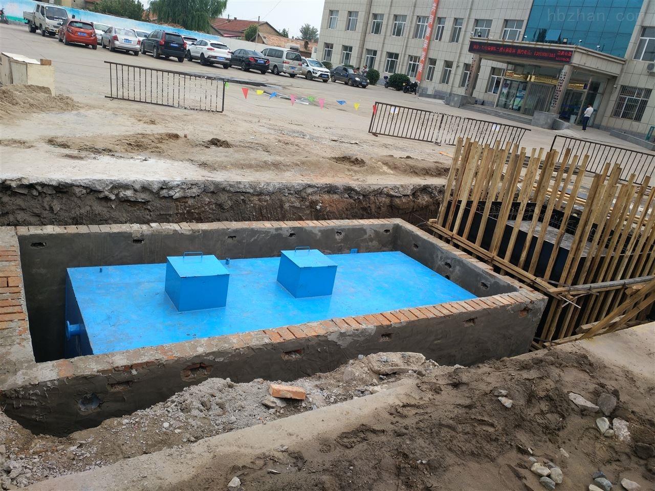 百色市农村生活废水处理设备
