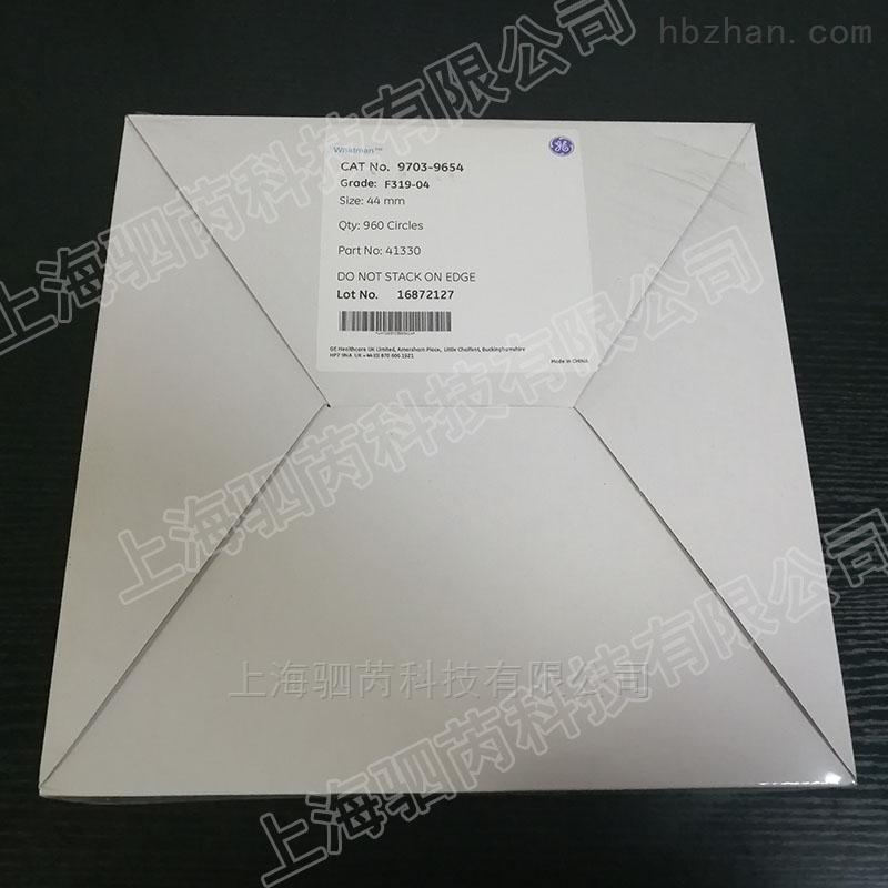 GE Whatman烟草检测滤纸F319-04滤片