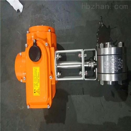 电动高温高压对焊式球阀