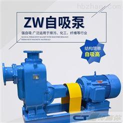 ZW/ZWP上海ZW自吸泵/自吸排污泵