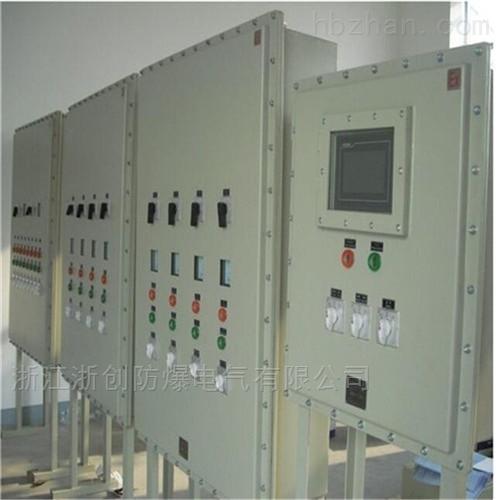 带数显表变频器防爆配电箱