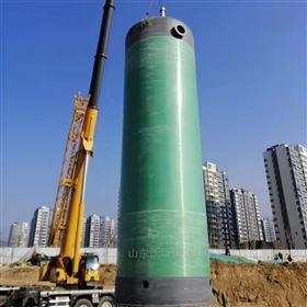污水提升泵站占地面积小
