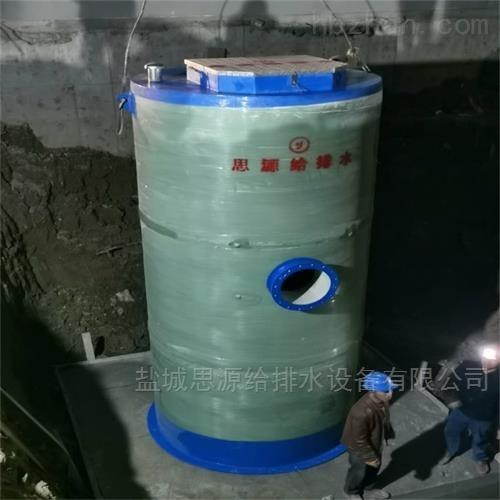 污水提升一体化泵站