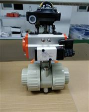 Q661F-10SPPH气动活接球阀