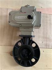D971X/F电动塑料蝶阀(RPP,UPVC,CPVC,PVDF)