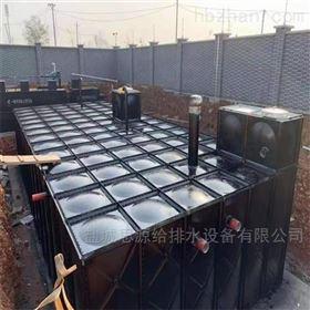 河南洛阳地埋式消防泵站水池 验收合格