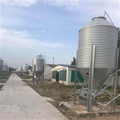 养殖自动化镀锌料塔的应用