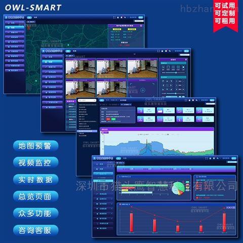 智慧物联网环境监测预警云平台开发软件定制