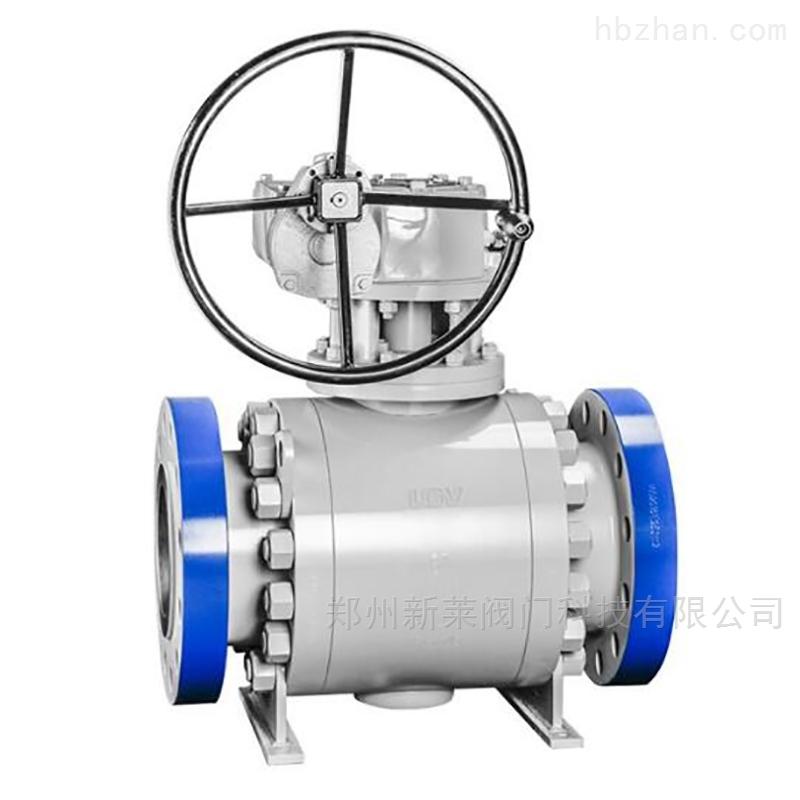 Q347H固定式锻钢球阀