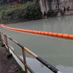 拦截水上大面积漂浮物用拦污排