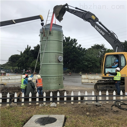 润平供水 降水废水处理 一体化预制泵站