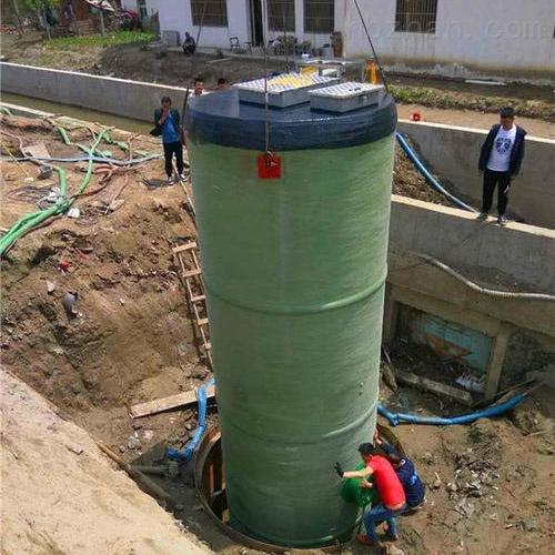 润平供水 工业农业废水收集 一体化预制泵站