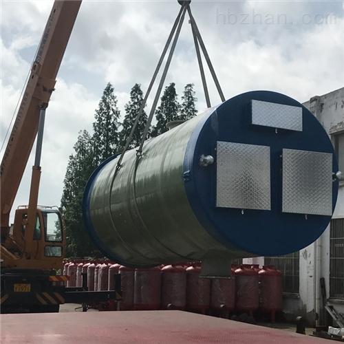 输送城市雨水收集 一体化预制泵站
