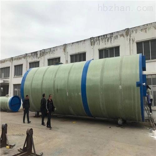 润平供水 防腐污水排放量 一体化预制泵站