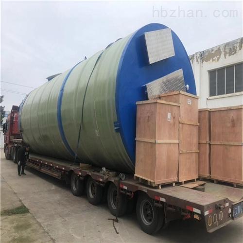 润平供水 玻璃钢防腐污水 一体化预制泵站