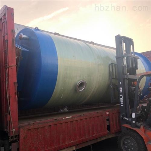 污水排污耐腐除臭一体化预制泵站