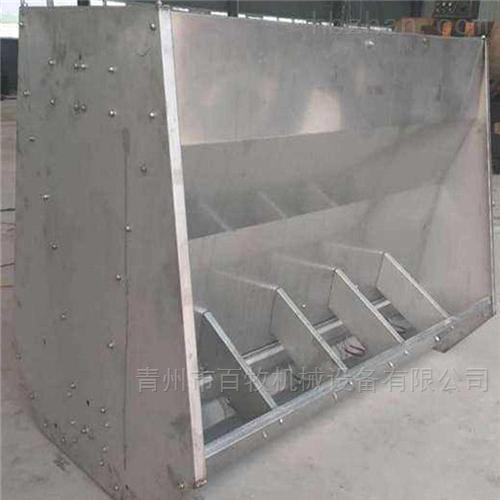 百牧直销育肥猪不锈钢料槽-自动料槽