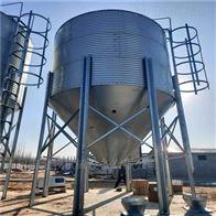 养殖设备镀锌板猪用料塔