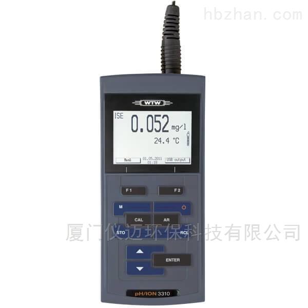 pH/ION 3310离子浓度多参数分析仪 WTW