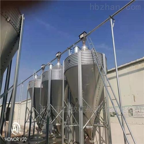 275镀锌料塔-10-30吨养殖料塔安装