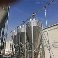 BM10吨养殖料塔-鸡场饲料塔-镀锌料塔安装