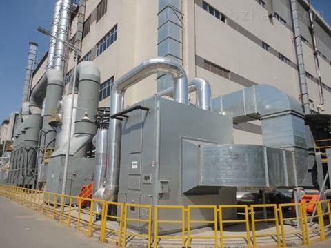 VOC沸石浓缩转轮焚化装置