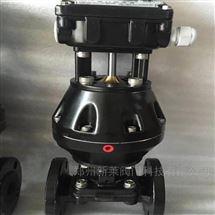 EG641J-10气动英标往复型隔膜阀