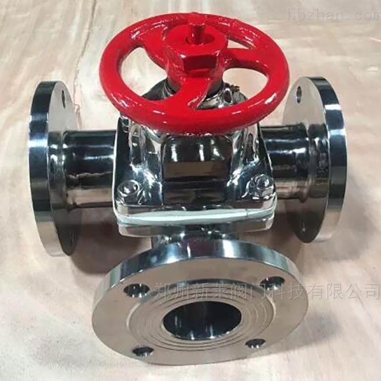 G49W-10P卫生级不锈钢三通隔膜阀