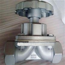 G11W-10P不锈钢内螺纹隔膜阀
