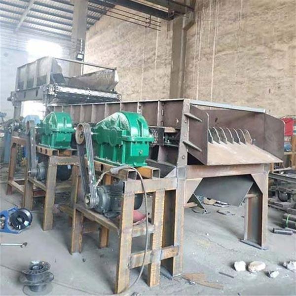 大同石料厂分离生产线、山西滚轴泥石分离机