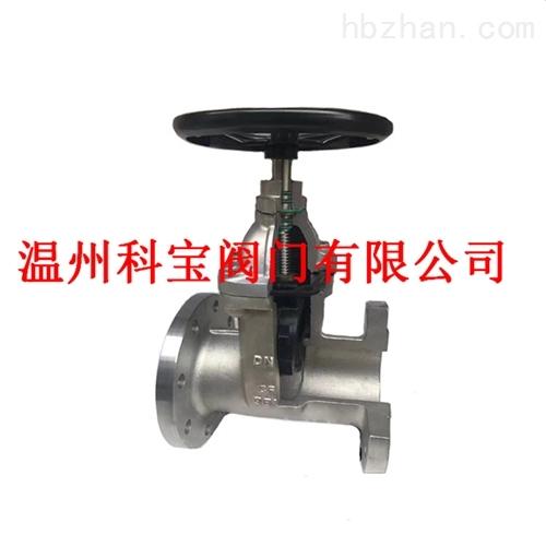给排水系统专用不锈钢软密封暗杠法兰闸阀
