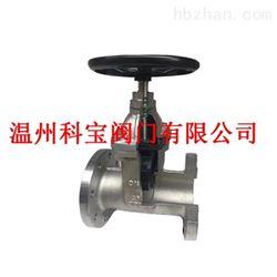 Z45X-10/16P给排水系统专用不锈钢软密封暗杠法兰闸阀