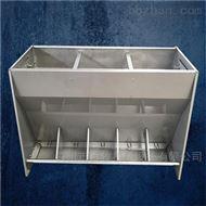 BM猪场不锈钢料槽-双孔料槽材质安装