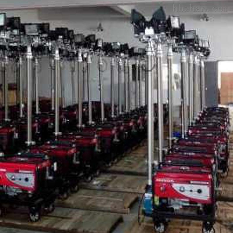 GAD506F施工消防遥控升降大型LED移动照明灯