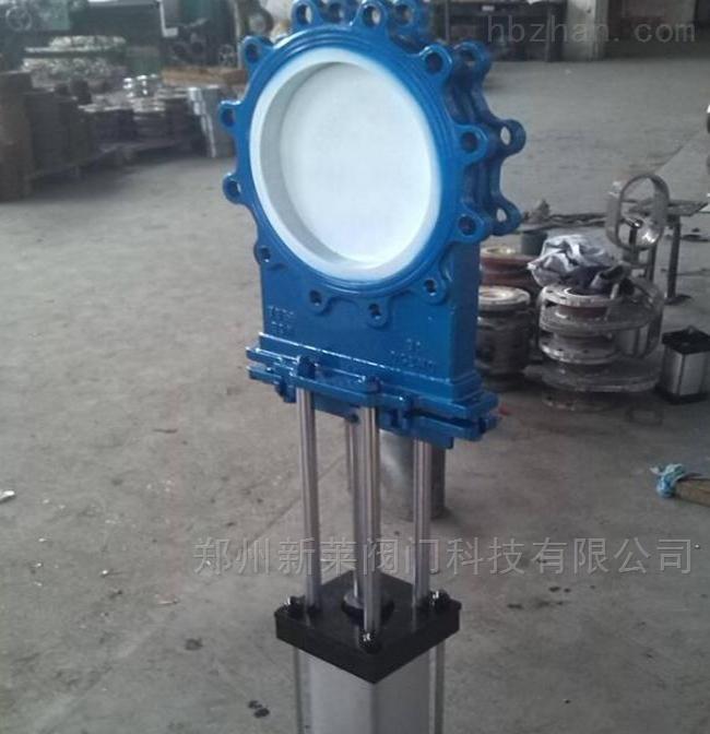 PZ673TC-16P气动不锈钢陶瓷刀闸阀